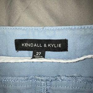 Kendall & Kylie Skirts - Kendall & Kylie denim button up skirt